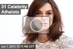 31 Celebrity Atheists