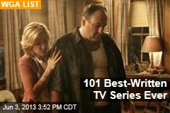 101 Best-Written TV Series Ever