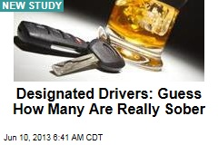 Study: 35% of Designated Drivers Are Buzzed