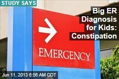 Big ER Diagnosis for Kids: Constipation