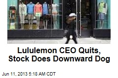 Lululemon CEO Quits, Stock Does Downward Dog