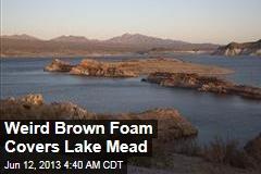 Weird Brown Foam Covers Lake Mead