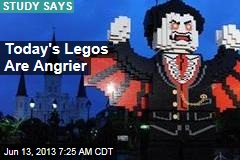 Today's Legos Are Angrier