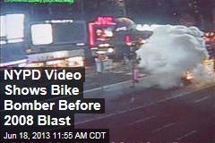 NYPD Video Shows Bike Bomber Before 2008 Blast