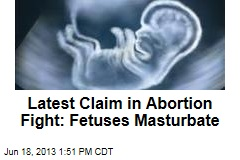 Latest Claim in Abortion Fight: Fetuses Masturbate