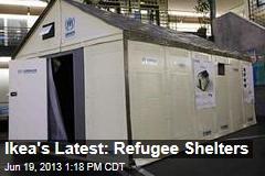 Ikea's Latest: Refugee Shelters
