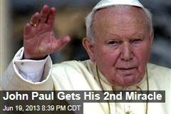 John Paul Gets His 2nd Miracle