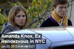 Amanda Knox, Ex Rendezvous in NYC