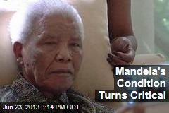 Mandela's Condition Turns Critical