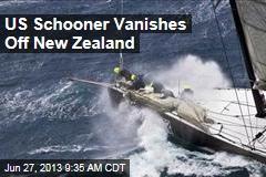 US Schooner Vanishes Off New Zealand