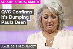 QVC Confirms It's Dumping Paula Deen