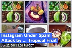 Instagram Under Spam Attack by ... Tropical Fruit