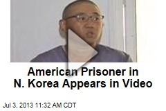 American Prisoner in N. Korea Appears in Video