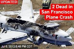 Plane Crashes at San Francisco Airport