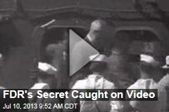 FDR's Secret Caught on Video
