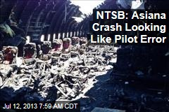 NTSB: No Sign of Mechanical Problems on Asiana Plane