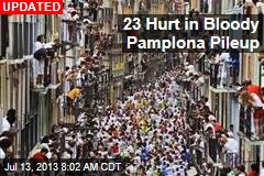 21 Hurt in Bloody Pamplona Run