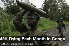 45K Dying Each Month in Congo