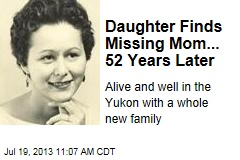 Daughter Finds Missing Mom... 52 Years Later