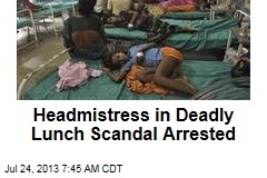 Headmistress in Deadly Lunch Scandal Arrested