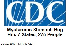 Mysterious Stomach Bug Hits 7 States, 275 People