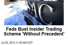 Feds Bust Insider Trading Scheme 'Without Precedent'