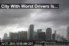 City With Worst Drivers Is ...