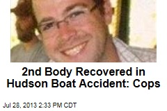 2nd Body Recovered in Hudson Boat Accident: Cops