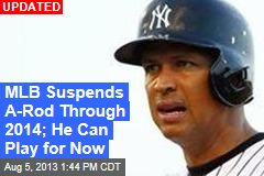 Suspensions Settled for Everyone But A-Rod