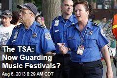 The TSA: Now Guarding Music Festivals?