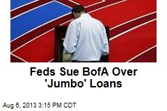 Feds Sue BofA Over Mortgage Securities