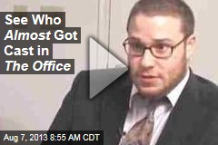 The Office Auditions: Seth Rogen as Dwight?