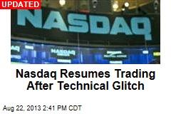 Nasdaq Halts Trading, Cites Technical Issues