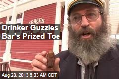 Drinker Gulps Down Bar's Prized Toe