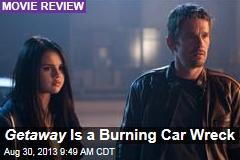 Getaway Is a Burning Car Wreck