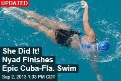 Nyad Breaks Distance Record in Swim to Cuba
