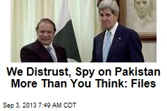 Secret Files Reveal Intense US Surveillance of Pakistan