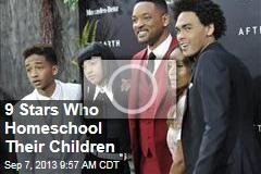 9 Stars Who Homeschool Their Children