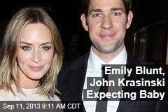 Emily Blunt, John Krasinski Expecting Baby