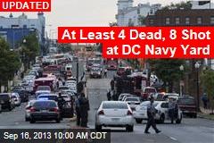 'Active Shooter' Injures 1 at DC Navy Yard