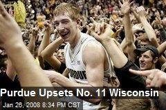 Purdue Upsets No. 11 Wisconsin