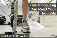 This Bionic Leg Can Read Your Thoughts