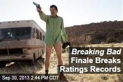 Breaking Bad Finale Breaks Ratings Records