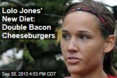 Lolo Jones' New Diet: Double Bacon Cheeseburgers