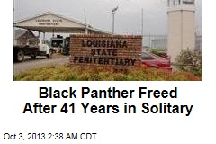 Black Panther Freed After 41 Years in Solitary
