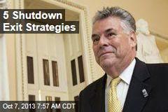 5 Shutdown Exit Strategies