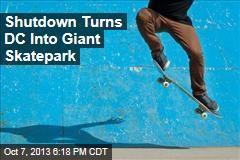 Shutdown Turns DC into Giant Skatepark