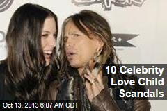 10 Celebrity Love Child Scandals