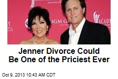Jenner Divorce Could Be One of the Priciest Ever