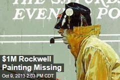 $1M Rockwell Painting Missing